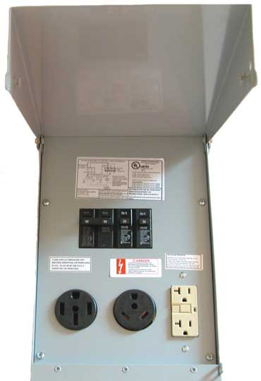 RV Power Pedestal Unmetered 370 good sam club open roads forum how are these things wired campground wiring diagram at gsmportal.co